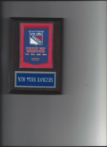 New York Rangers Banner Plaque Ny Stanley Cup Champions Champs Hockey Nhl - $3.95