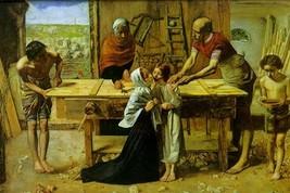 Christ on the House of His Parents by John Everett Millais - Art Print - $19.99+