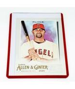 MLB ALBERT PUJOLS ANAHEIM ANGELS 2020 TOPPS ALLEN & GINTER #110 MINT - $1.53