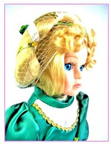 """Rapunzel 14"""" The Heritage Collection Porcelain Storybook Doll -  With Stand - $44.00"""