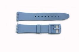 17mm Uomo Azzurro Ricambio Fascia Cinturino per Swatch Orologi - $8.42