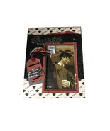 SPECIALIZED DECORATIVE WOODEN WITH GLASS COVERED WALL OR COUNTER TOP PIC... - $12.60
