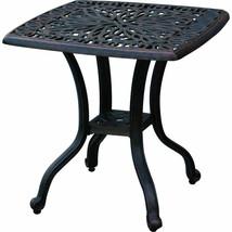 Outdoor bistro patio furniture 3 pc Flamingo swivel rocker cast aluminum bronze image 2