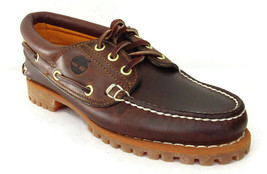 TIMBERLAND NOREEN Women's Brown Leather Handsewn Boat Shoes Sz 6.5W(Wide... - $79.99
