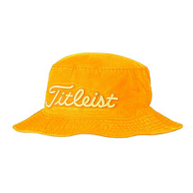 NEW! Titleist Pigment Dyed Bucket Hat-(Small/Medium,Yellow) - $64.23