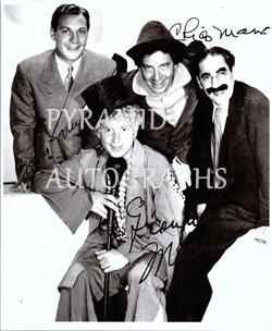 Primary image for  MARX BROTHERS Autographed Authentic Signed Photo w/COA - 85751