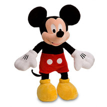Disney Store Mickey Mouse Plush Medium 18'' Toy New With Tags - $23.28