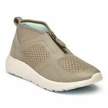 Vionic Mist Women's High Top Dark Taupe Orthotic Arch Support Sneaker - $109.95
