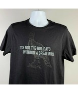 Wild Turkey Bourbon Not the Holidays Without a Great Bird T Shirt Mens S... - $24.70