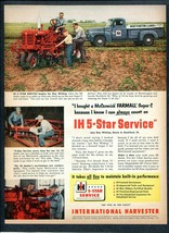 1952 International Harvester I-H Ad Rockford IL Farmer Has Super-C Tract... - $8.06