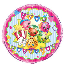 "Shopkins Foil Balloon Metallic 18"" Birthday Party - $3.51"
