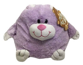 Jay At Play Mushable Pot Bellies Bunny Rabbit Plush Purple White Style 8... - $59.39