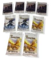 Argent Saga Betrayal Trading Card Game Booster Packs Lot 9 English Sealed NEW - $24.74