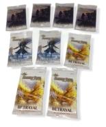 Argent Saga Betrayal Trading Card Game Booster Packs Lot 9 English Seale... - $24.74