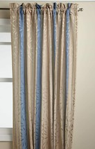 "Whitfield Stripe Tailored Curtain Panel, Blue, 84"", by Lorraine Home Fas... - $17.99"