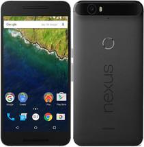 "Huawei Nexus 6P | 32GB - 4G LTE (GSM UNLOCKED) 5.7"" Smartphone | Graphite"