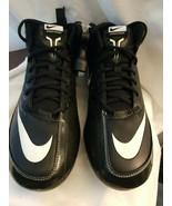 Nike Foodball Speed Strike Mens Cleats BLACK/WHITE 442253-010 Size 12 NIB - $17.77