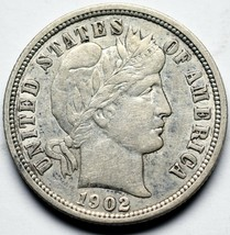 1902O Silver Barber Dime 10¢ Coin Lot# A 238