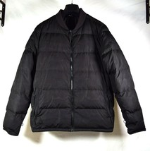The North Face Mens Down 550 Puffy Jacket Charcoal Black Bomber L - $99.00