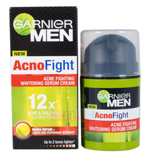 2X Garnier Men Acno Fight Whitening Serum Cream Skin Care Face Beauty Tr... - $43.90