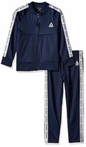 Reebok Boys' 2 Piece Delta Tracksuit Set (2T|Bright Navy) - $33.32