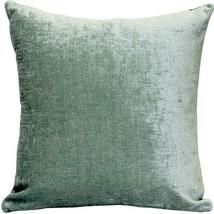 Pillow Decor - Venetian Velvet Ice Blue Throw Pillow 20x20 (PK1-0005-04-20) - $49.95