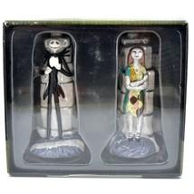 Enesco Nightmare Before Christmas Jack Skellington & Sally Salt Pepper Shakers image 1