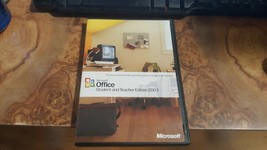 Microsoft Office 2003 Student and Teacher Full w/key - $9.89