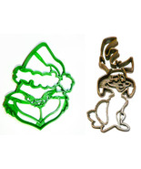 Grinch Face And Dog Max Dr Seuss Christmas Set Of 2 Cookie Cutters USA PR1541 - $4.99