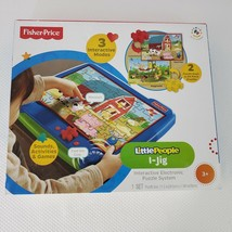 New Fisher Price Little People I-Jig Electronic Sounds Puzzle Board  - $49.45