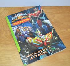 POWER RANGERS Super Legends MEGAZORDS ATTACK Coloring Book 2008 MMPR - $9.18