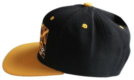 Young & Reckless Y&R LA Mens Black Yellow Snapback Baseball Hat New with Tags image 3