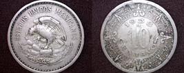 1938 Mexican 10 Centavo World Coin - Mexico - $8.99
