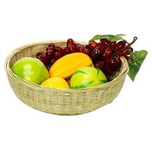 Bamboo Fruit Plate Bar/KTV Snack Baskets Hand-woven Baskets 226.5CM - $17.16