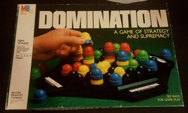 DOMINATION - Milton Bradley - 1982 - strategy game 100 % complete vintage - $17.42
