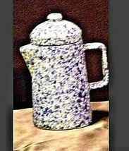 Vintage Stoneware Miniature Coffee Pot AA19-1410 image 5