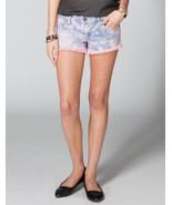 Freestyle Deedee Tiedye Cutoff Denim Shorts Size 9 Brand New - $20.89