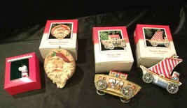 1988 Hallmark Handcrafted Ornaments AA-191772 Collectible  ( 4 pieces )