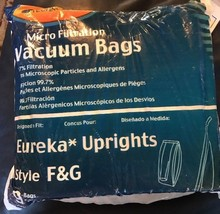 Vacuum Bags for Sanitaire Eureka F&G Upright style F G Envirocare 216-9 9 Pack - $12.82