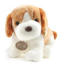 """Amangs Sitting Happy Dog Plush Toy Doll 18cm 7"""""""