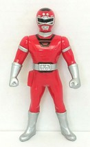 "MMPR Power Rangers Turbo Red Ranger 5"" Action Figure 1997 Bandai Used - $20.00"