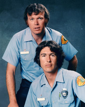 Emergency! Color Photo 16x20 Canvas Randolph Mantooth Kevin Tighe In Unifo - $69.99