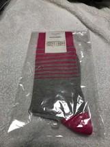 STROLLEGANT Radiance Men Crew Socks 1 Pair (Pink / Gray), Sock Size 10-13 Sale