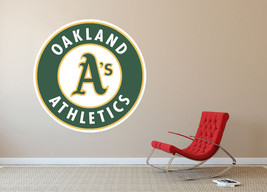 Oakland Athletics MLB Baseball Team Wall Decal Decor For Home Laptop Sports - $104.45