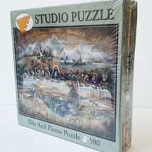 The Last Supper Jigsaw Studio Puzzle Sealed 500 Pc Bits and Pieces Ruane Manning - $23.75