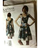 Vogue V1353 Misses Dress Size 8-16 American Designer Kay Unger NY Sew Pa... - $26.43