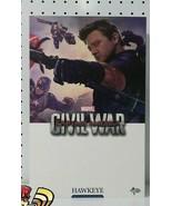 HOT TOYS Movie Masterpiece 1/6 scale Civil War Captain America HAWKEYE - $516.78