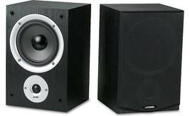 NEW Polk Audio R150 BLACK 2 Way Bookshelf Speakers PAIR image 1