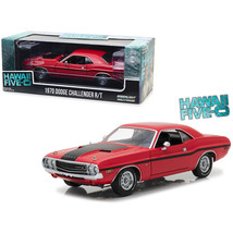1970 Dodge Challenger R/T Red with Black Stripes Hawaii Five-0 (2010) TV... - $115.10