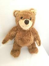 Steiff Light Brown Teddy Bear Plush Stuffed Animal Tan Face Paws - $59.38